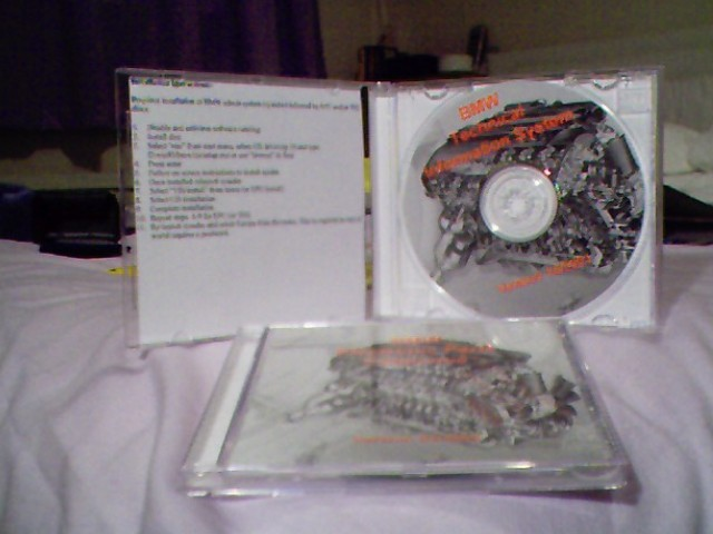 BMW Technical Information System (TIS) on CD