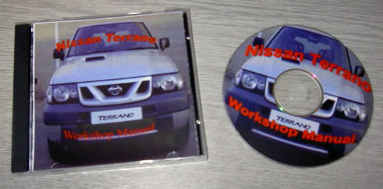Nissan Terrano Workshop Manual on CD