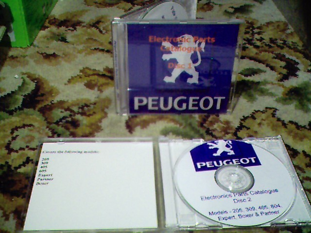 Peugeot Electronic Parts Catalogue (EPC) on CD