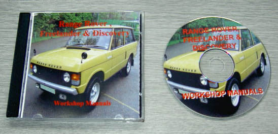Range Rover Discovery & Freelander Workshop Manual
