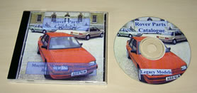 Rover Legacy Parts Catalogue